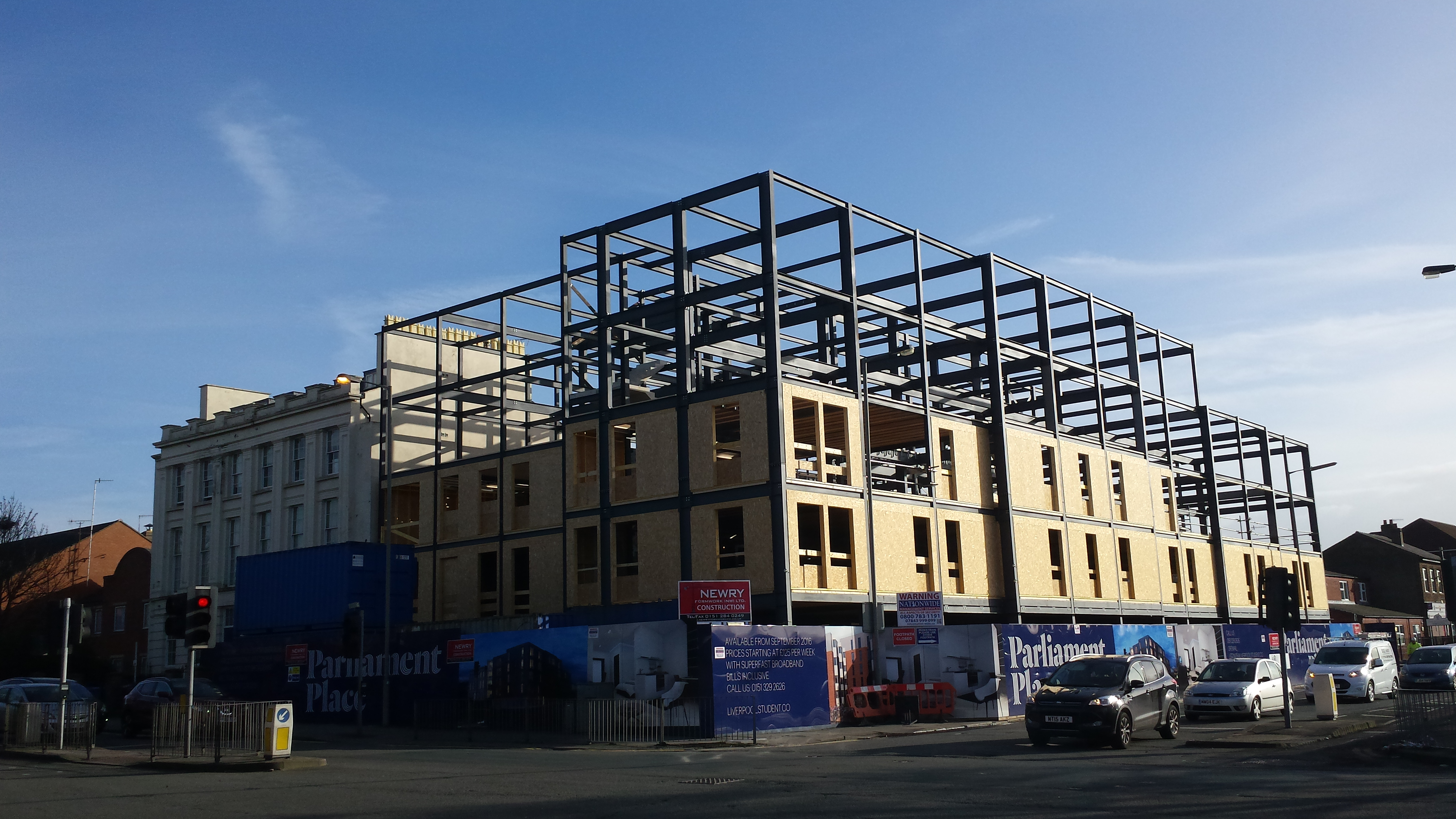 Newry Construction Parliament Place Wyder Timber