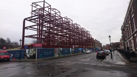 Newry Construction, Falkner Street
