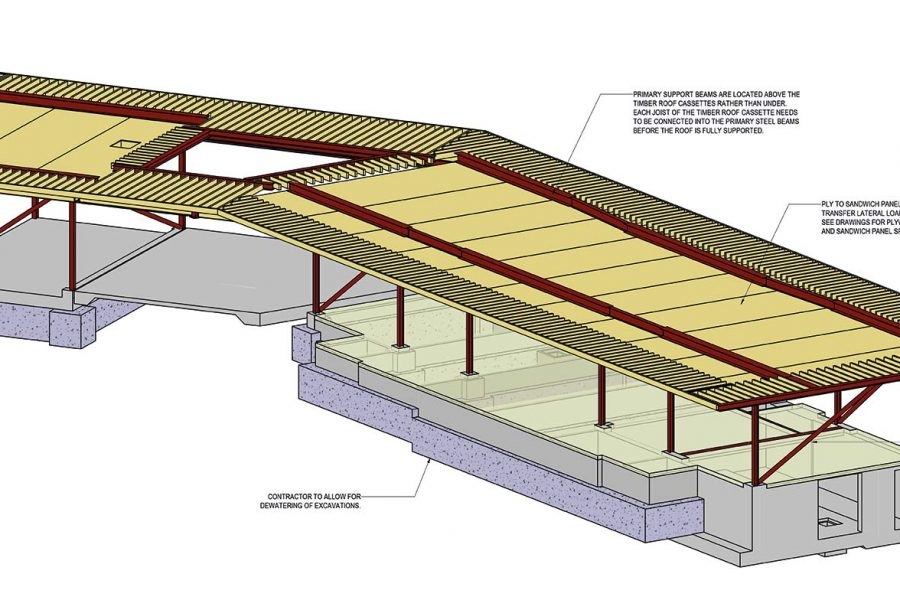 New Project – Charter Cricket Club Pavilion Roof